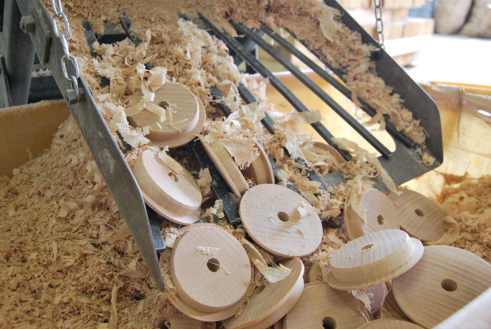 Lavorazione legno e minuteria - Torneria Todeschini