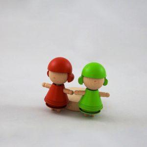 Produzione di giocattoli in legno made in italy - Torneria Legno Todeschini