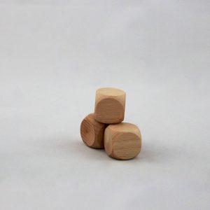 Dadi in legno- Torneria Todeschini