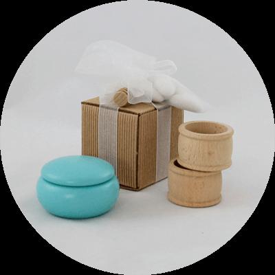 Prodotti cosmesi in legno