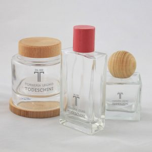 Tappi in legno per cosmetici - Torneria Todeschini