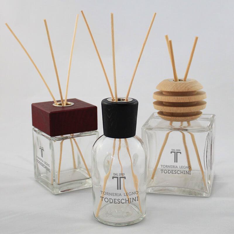 Tappi in legno per cosmetici