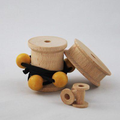 accessori moda per merceria - Torneria legno Todeschini (Bergamo)